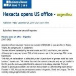 Business news americas - Hexacta opens usa office