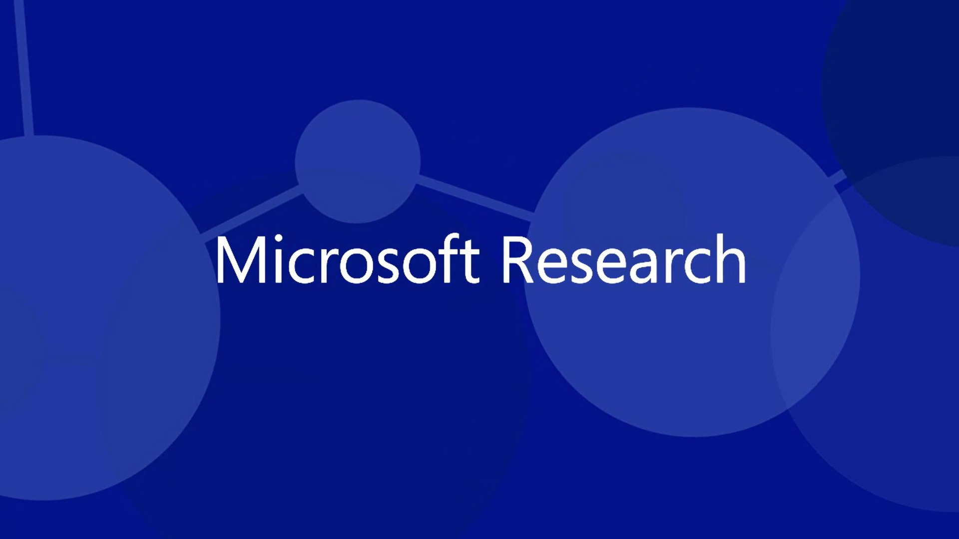 Microsoft Research Faculty Summit 2009