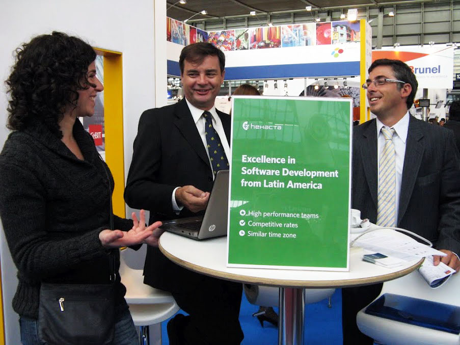 Hexacta was present at CeBIT 2012