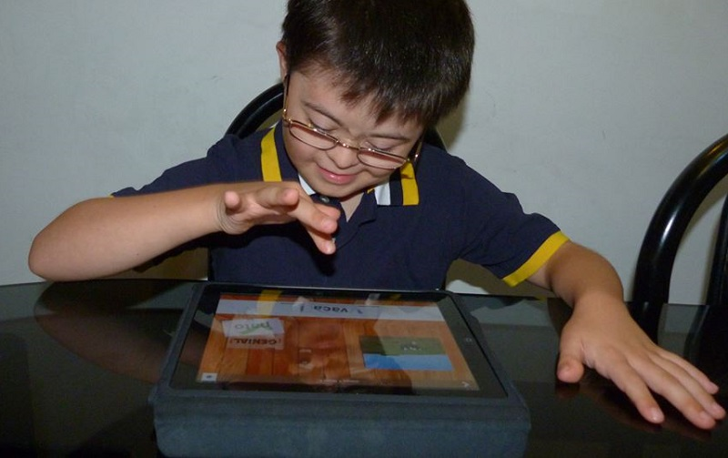 mobile app for children with Down syndrome