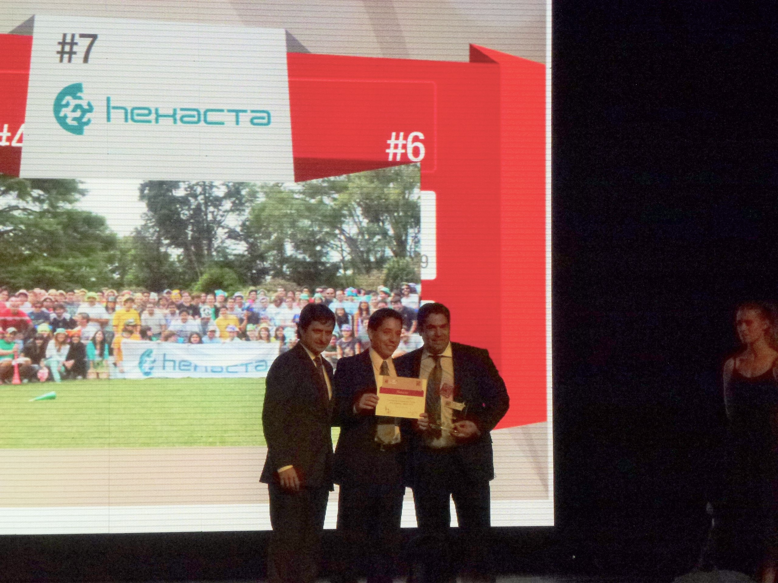 Hexacta among the 10 best companies to work in Argentina