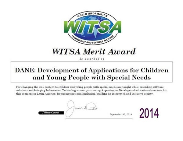 Merit Award for the DANE project