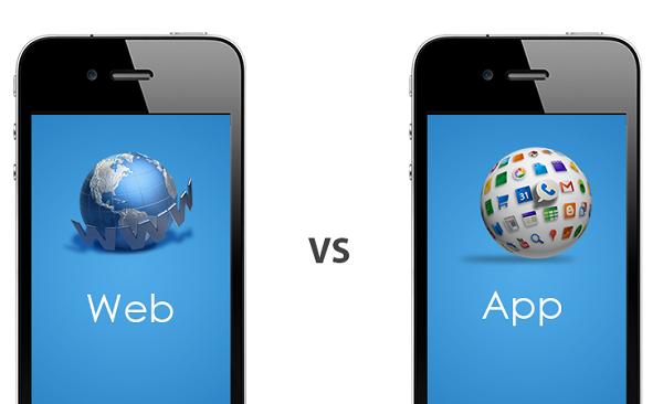 mobile website vs mobile app Hexacta