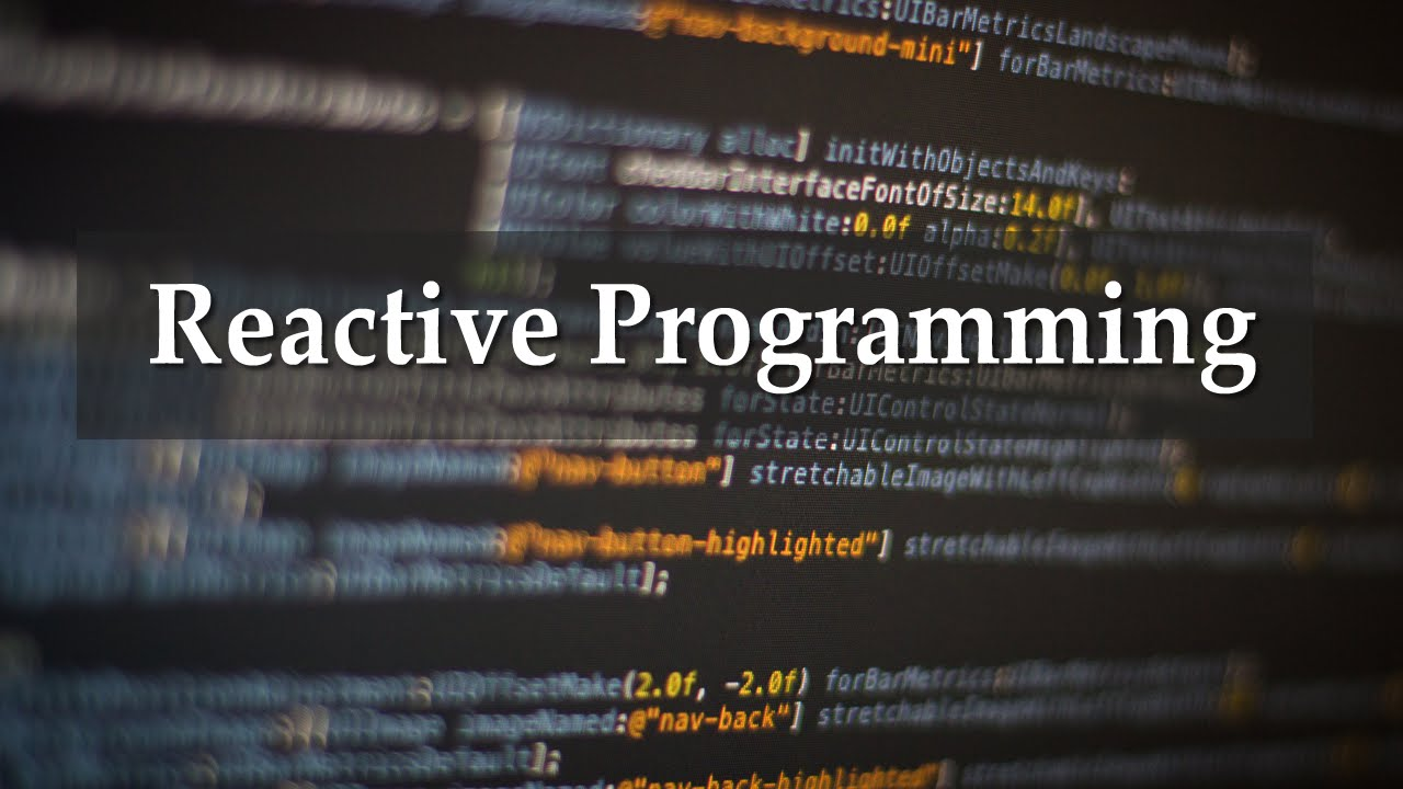 reactive programming bespoke software development company