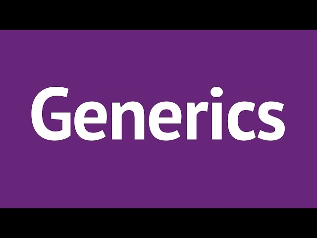 advanced generic language