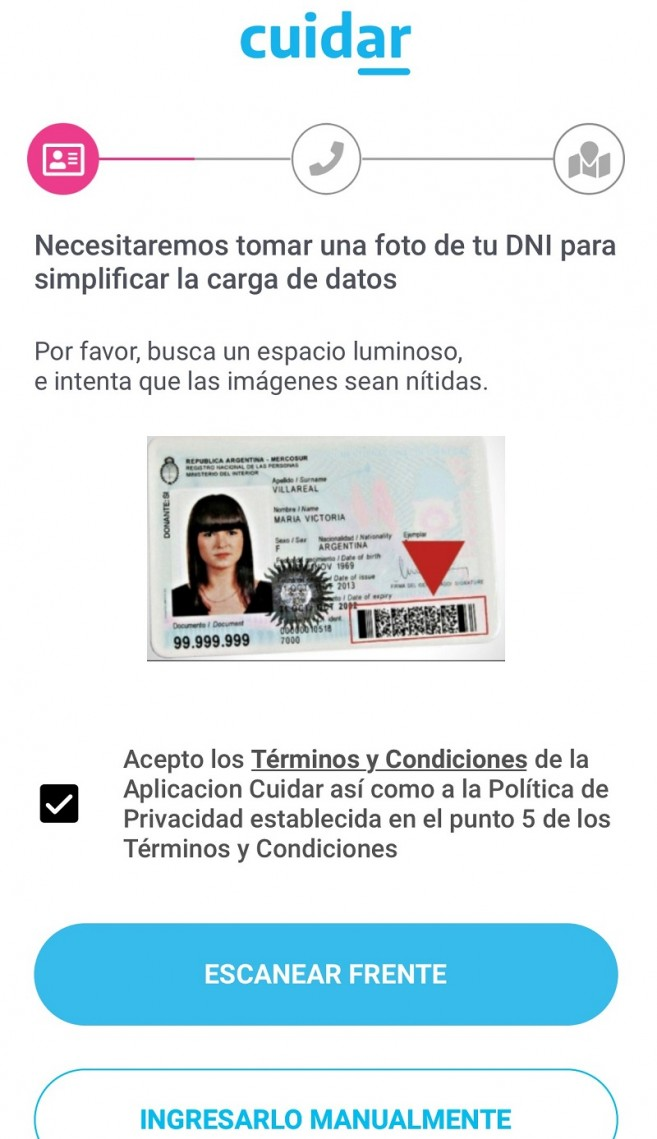 A mobile app to self-diagnosis of Coronavirus symptoms is available in Argentina3