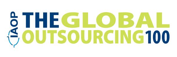 The 2021 Global Outsourcing list logo IAOP